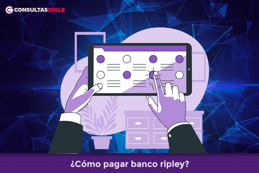 Cómo pagar banco ripley